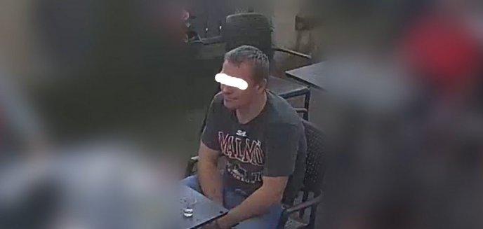 Policjanci namierzyli 36-latka podejrzanego o kradzież saszetki z pieniędzmi [WIDEO]