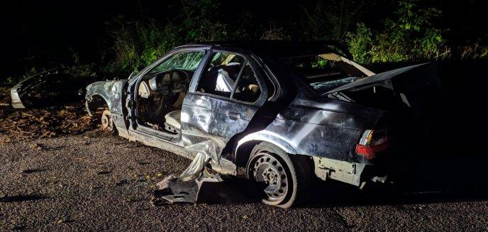 Artykuł: Kolejny porzucony wrak BMW. Tym razem na - niegdyś popularnym - parkingu na rogatkach Olsztyna