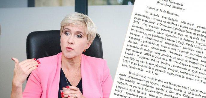 Artykuł: Urszula Pasławska z PSL-u żąda wznowienia małego ruchu granicznego z Rosją