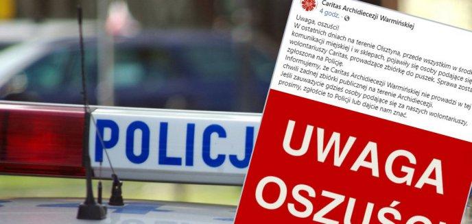 Artykuł: W Olsztynie pojawili się kolejni oszuści. Podają się za wolontariuszy Caritas