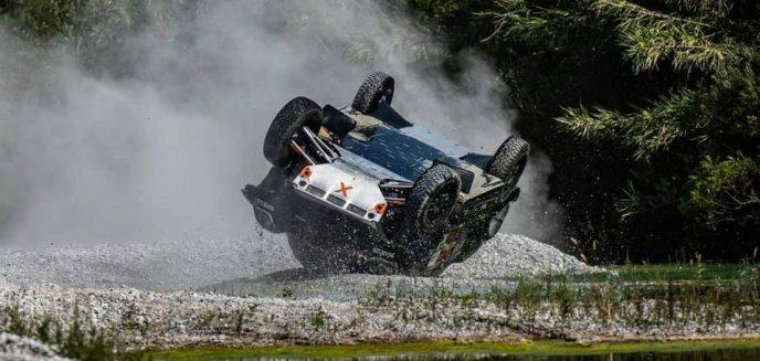 Wypadek Krzysztofa Hołowczyca podczas rajdu Italian Baja