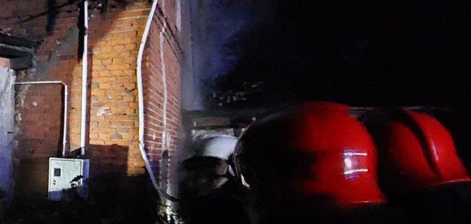 Artykuł: Gmina Kolno. Tragiczny pożar domu jednorodzinnego, nie żyje 70-letni mężczyzna