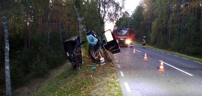 Niebezpiecznie na drogach powiatu. W poniedziałkowy poranek doszło do dwóch groźnych zdarzeń [ZDJĘCIA]