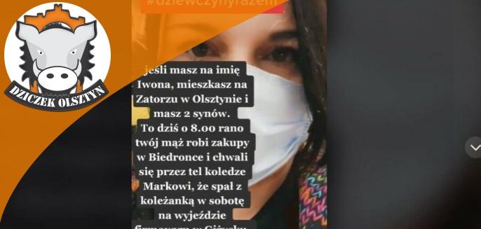 Wokalistka z regionu podsłuchała rozmowę w jednej z Biedronek w Olsztynie. ''Twój mąż spał z koleżanką''