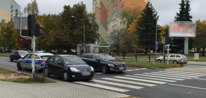 Artykuł: 50-latka kierująca fordem potrąciła 11-latka na przejściu dla pieszych na ul. Dworcowej w Olsztynie