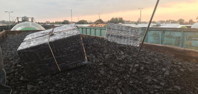 Artykuł: Kontrabanda w składzie węgla w pociągu jadącym z Rosji [ZDJĘCIA, WIDEO]