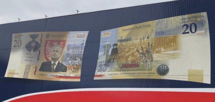 Artykuł: Lech Kaczyński na banknocie o nominale 20 zł