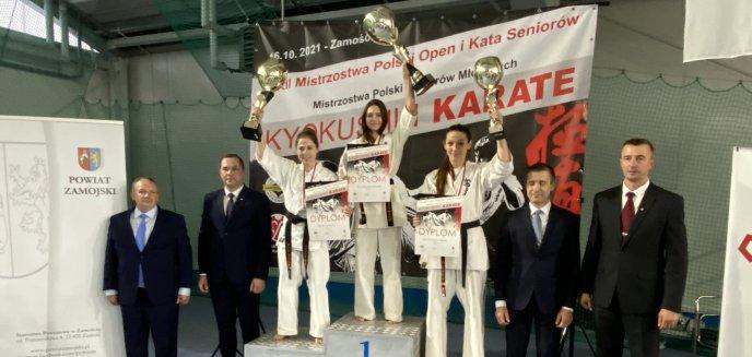 Artykuł: Karate. Dobry występ olsztyńskich zawodniczek na Mistrzostwach Polski Karate Kyokushin w Zamościu