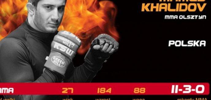 Artykuł: Khalidov przegrał, ale z klasą!