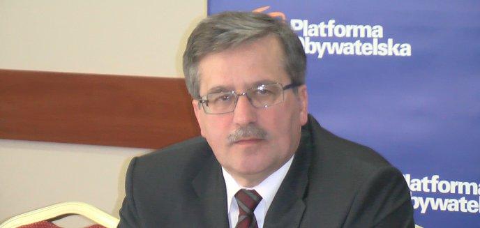 Artykuł: Marszałek Komorowski gościł w Olsztynie