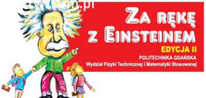 Artykuł: Za rękę z Einsteinem w Olsztynie