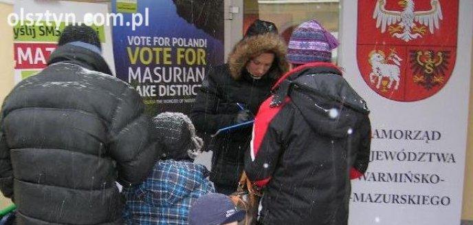 Artykuł: Olsztynianie głosowali na Mazury