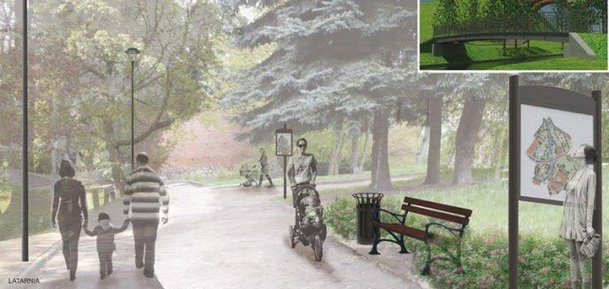 Artykuł: Kolejne pomysły zagospodarowania  Parku Podzamcze II