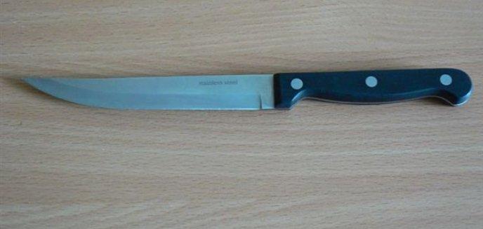 Artykuł: Pchnęła nożem konkubenta