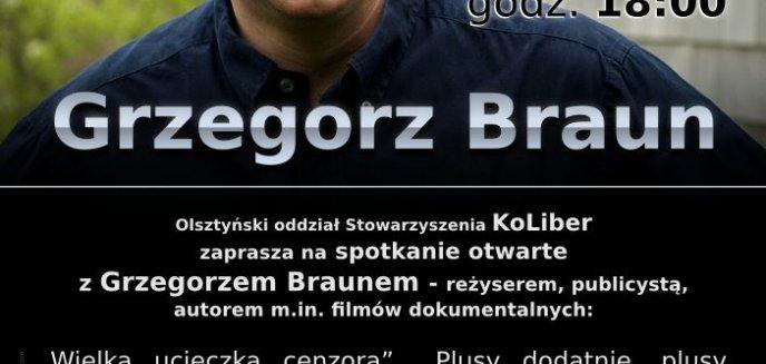 Artykuł: Spotkanie z Grzegorzem Braunem