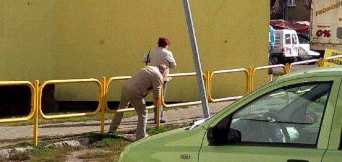 Żółta barierka robi karierę w Olsztynie