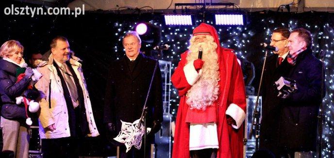 Święty Mikołaj otworzył III Warmiński Jarmark Świąteczny - zobacz zdjęcia!