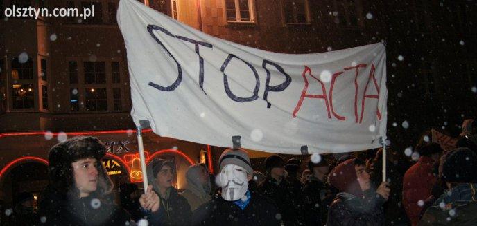 Nie dla ACTA. Olsztynianie tłumnie wyszli na ulice!